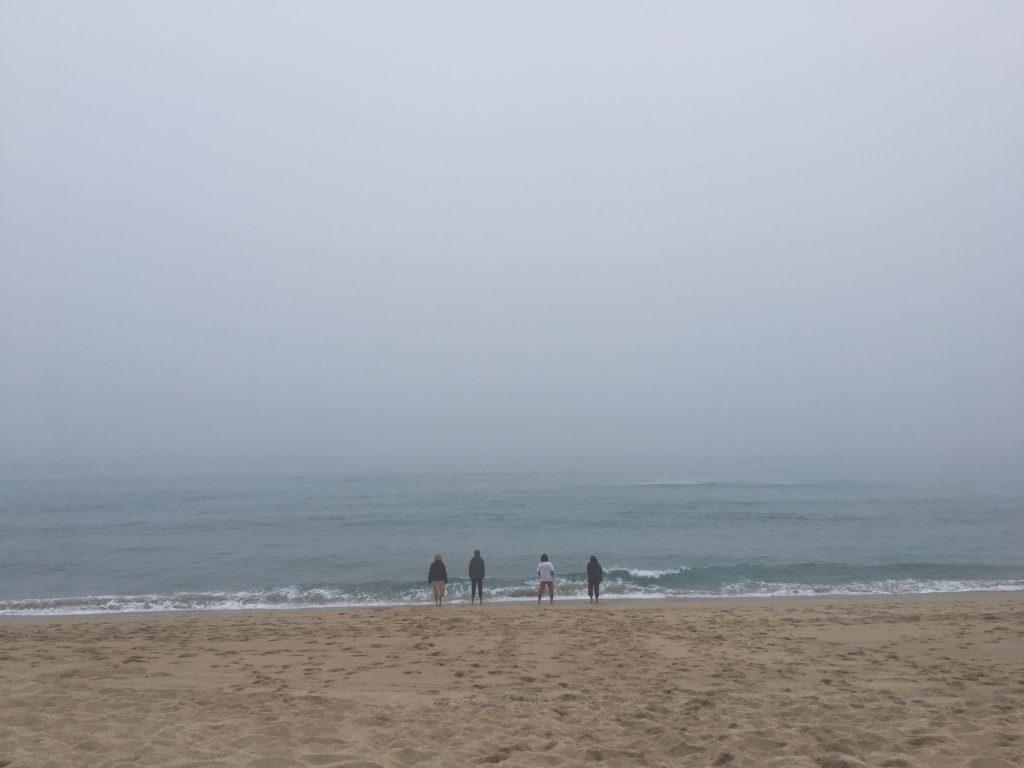 Camino de Santiago, oceanfront